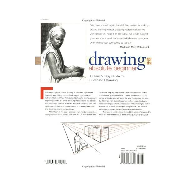 Drawing-for-the-Absolute-Beginner-A-Clear-Easy-Guide-to-Successful-Drawing-Art-for-the-Absolute-Beginner-Paperback–November-2-2006