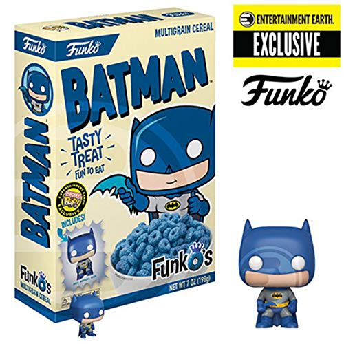 Funko Pop Cereal MULTIGRANO Y Pocket Batman Exclusivo