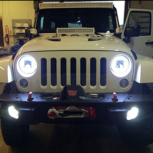 Suitech Sui Projector02 Jeep Wrangler Headlights Round Led