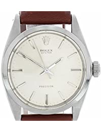 Precision mechanical-hand-wind mens Watch 6426 (Certified Pre-owned)