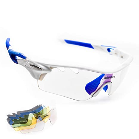 Amazon.com: WOLFBIKE Gafas de sol polarizadas para ciclismo ...