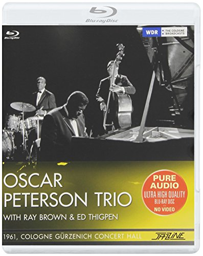 Blu-ray : Oscar Peterson - 1961 Cologne Gurzenich Concert Hall (Spain - Import)