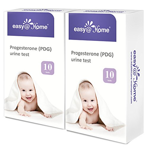 Easy@Home Progesterone (PDG Test) Urine Test Strips Kit -20 Tests, Newly Launched FDA Registered Ovulation Confirmation Test by Easy@Home (Image #1)