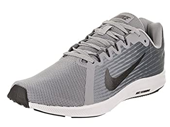 Nike Womens Wmns Downshifter 8 Wolf Grey Mtlc Dark Grey Black Size 9 0