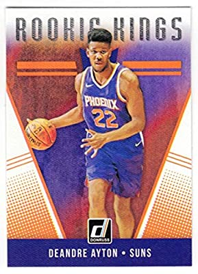 20f764064 Deandre Ayton 2018-19 Donruss Rookie Kings  27 NM-MT Suns Basketball NBA