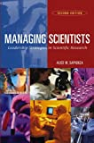 "Photo of book with title ""Managing Scientists"""