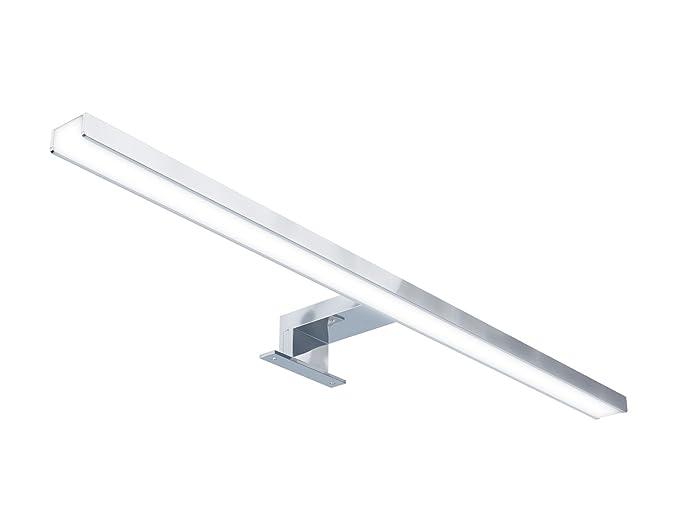 Starbath silvia 60cm luce a led applique faretto specchio arredo