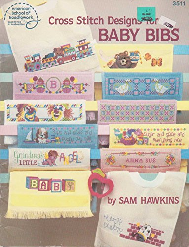 Cross Stitch Designs for Baby Bibs No 3511