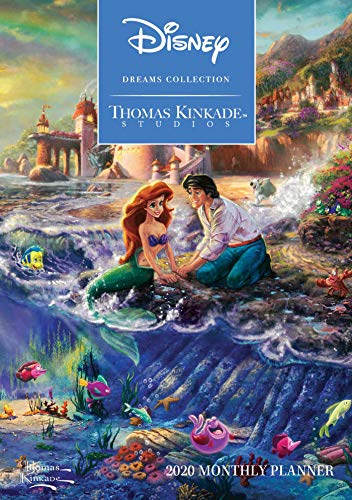 Collection Monthly - Thomas Kinkade Studios: Disney Dreams Collection 2020 Monthly Pocket Planner Cal
