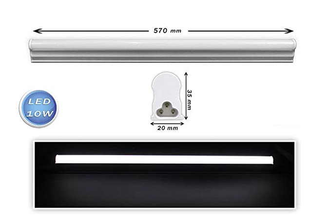 Plafoniera Tubo Led 120 : Vetrineinrete sottopensile led plafoniera neon tubo