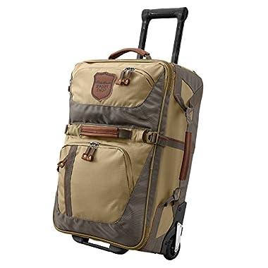 Eddie Bauer Unisex-Adult Adventurer® Medium Rolling Bag, Saddle ONESZE