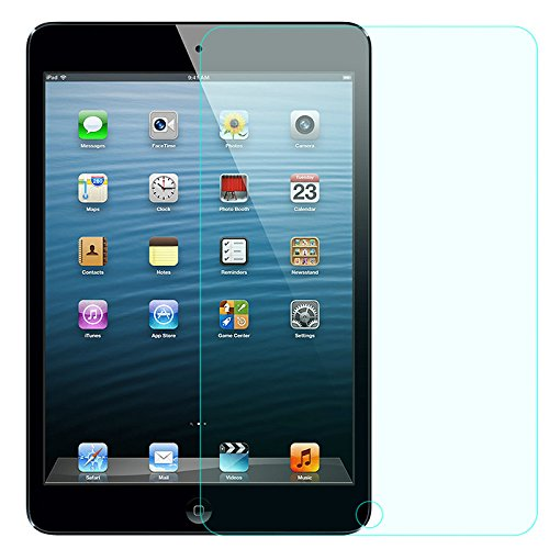 GerTong - Protector de Pantalla para Apple iPad Air/iPad Air2 de 9,7 Pulgadas (Cristal Templado HD, antiarañ azos/antihuellas/fá cil instalació n) antiarañazos/antihuellas/fácil instalación)