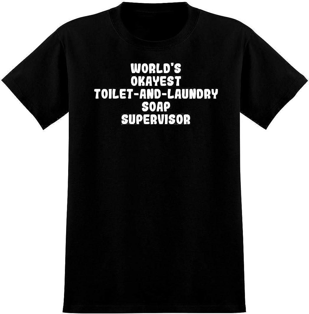 World's Okayest Toilet-And-Laundry Soap Supervisor - Soft Men's T-Shirt