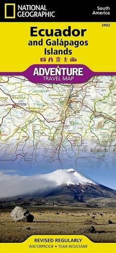Ecuador and Galapagos Islands (National Geographic Adventure Map)
