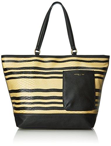 olivia-joy-maddie-pu-shoulder-bag-black-tan-stripe-anaconda-one-size