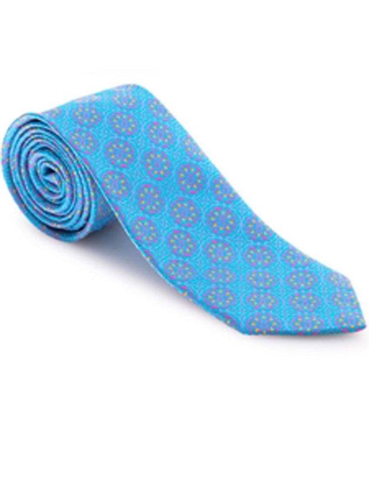 Robert Talbott Turquoise Connoisseur Estate Tie
