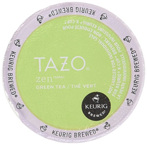 Starbucks Tazo Tea * Zen * Green Tea, 3 Boxes of 16 K-Cups for Keurig Brewers, (48 Total count)