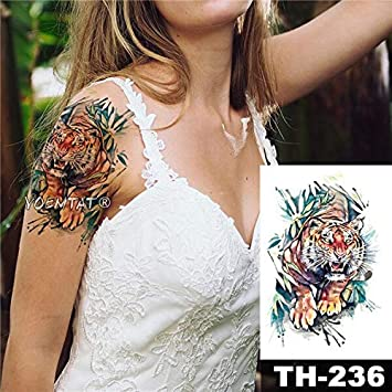HXMAN 5 Unids Impermeable Temporal Tatuaje Pegatina 3d Inyección ...