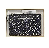 Michael Kors Purple Stars Limited Edition Jet Set Card Case Key Pouch Wallet