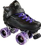 Rock GT-50 Roller Skates w/ Purple Wheels & Laces