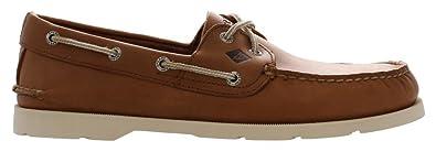 Men's Sperry Leeward Boat Shoe BROWN 7 M