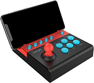 Libison Gamepad, PG-9136 Arcade Joystick Bluetooth USB Fight Stick Controller Gamer for Phone/PC Classic Game Game Screen Children Retro Handheld Game Controller