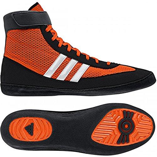 Adidas velocidad Combat 4 Tamaño de lucha Zapatos de jóvenes Bahía Azul / cal 1,5 Orange,Black,White