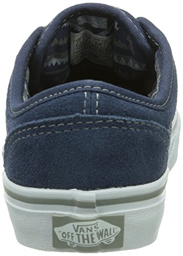 Niños Zapatillas Atwood Pacific suede F1w Blau Vans qfEOTwn