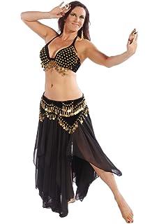 Amazon.com: Bellydance - Disfraz de bailarina sexy para ...