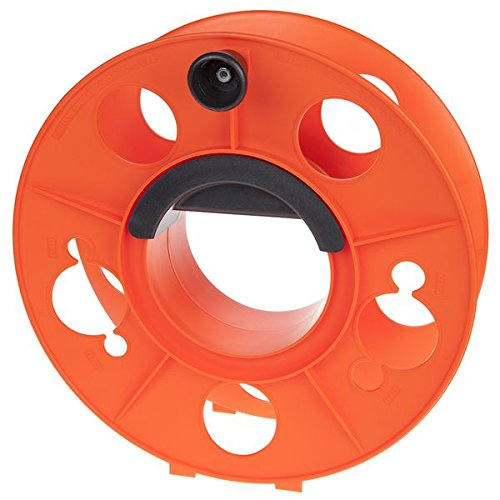 - Bayco KW-130 Cord Storage Reel with Center Spin Handle, 150-Feet