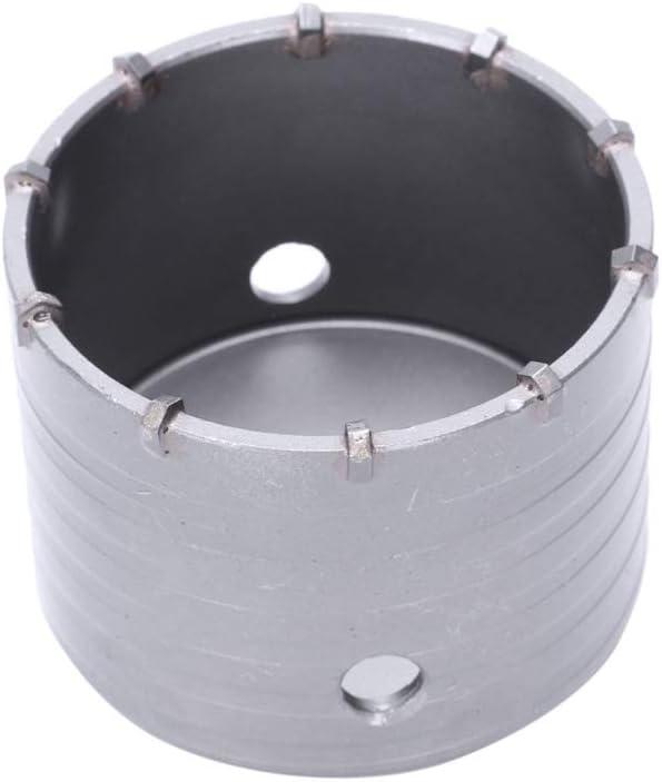 Deylaying 100mm Sierra de Agujero de Hormig/ón Coronas Perforadoras de TCT Core Agujero de Acero del Carburo para Paredes de Ladrillo Aberturas de Aire Acondicionado