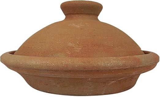 Tajín sin barnizar natural de Marruecos, día de cocina ...