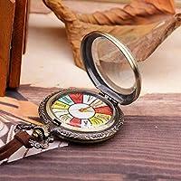 Reloj De Bolsillo, Reloj De Bolsillo Vintage, Siete Relojes De Bolsillo Digital Giratorio Colorido