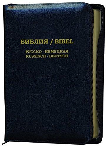 Die Bibel: Russisch-Deutsch mit Leder und Goldschnitt