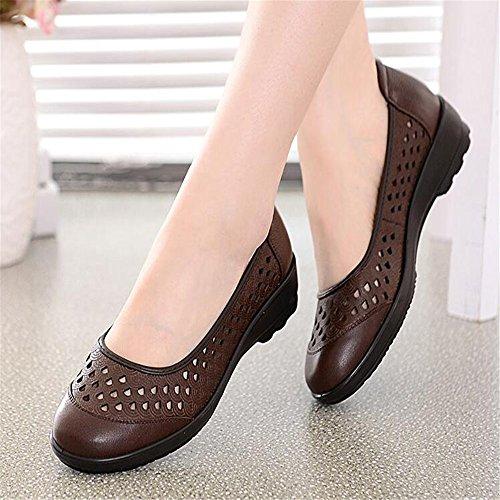 Zapatos Brown Con Fondo Sandalias Mama Blando nZWRw7wT
