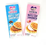 belgian waffles packaged - Belgian Boys Waffle Cookie Sandwich Strawberry and Chocolate - Pack of 2