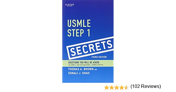 usmle step 1 secrets 3e medicine u0026 health science books amazoncom
