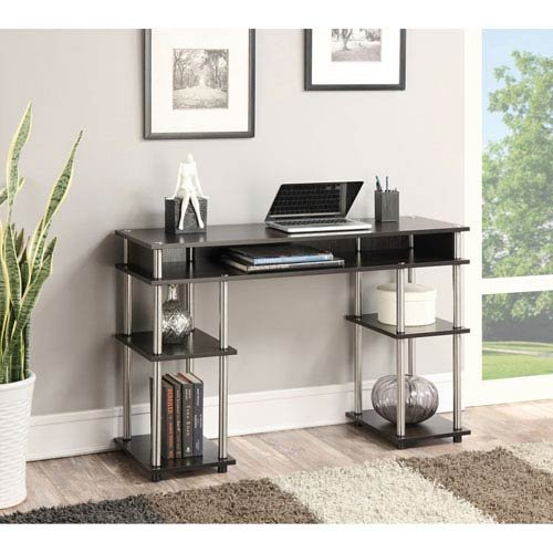 Convenience Concepts No Tools Student Desk, Espresso