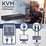 TRENDnet 8-Port USB/PS2 Rack Mount KVM