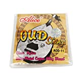 Musiclily Alice Nylon and Silver-Plated Wound 11 String Oud Strings Set