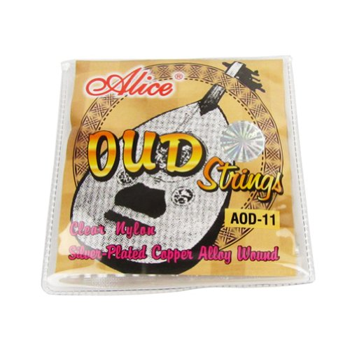 Musiclily Alice Nylon and Silver-Plated Wound 11 String Oud Strings Set by Alice