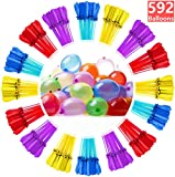 Water Balloons for Kids Girls Boys Balloons Set Party Games Quick Fill Water Balloons 594 Bunches Swimming Pool Outdoor Summer Fun A6