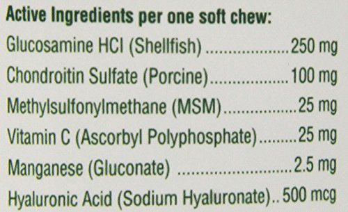 PetNC Natural Care Hip and Joint Soft Chews for Dogs, 90 Count 4