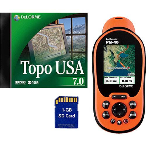 Delorme Earthmate PN-40 Handheld GPS Unit