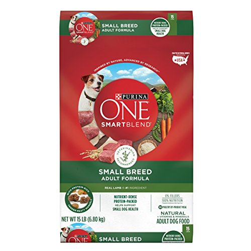 Purina ONE SmartBlend Small Breed Lamb & Rice Formula Adult Dry Dog Food – 15 lb. Bag Review