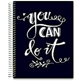 Tools4Wisdom June 2019-2020 Planner - Daily Weekly Monthly Academic Planner Calendar Year - 8.5' x 11' Hardcover