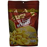 King Fruit - Vacuum Freeze Dried Durian Fruit - 3.5 Oz (Monthong Chunk) (1 Bag)