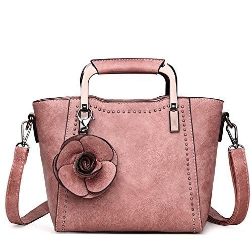 Bag Simple Tote Bag Pink Shoulder Bag Crossbody Wild Women's Fashion p1wqp5