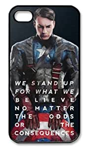 Captain America Case for Iphone 4/4s