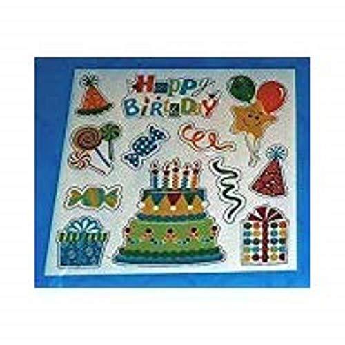 Birthday Locker Decorations (Birthday Magnets Set of 12)